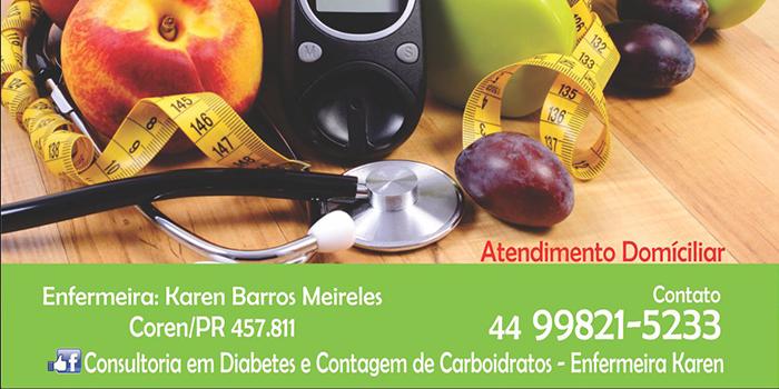 Consultoria Em Diabetes – Enfermeira Karen