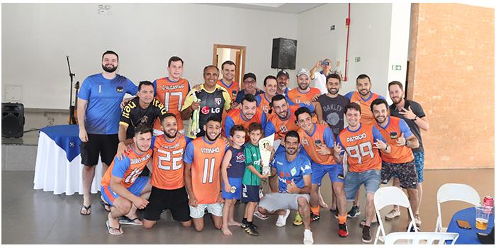 Itaú é Campeão Do Campeonato De Futebol Suíço Dos Bancários