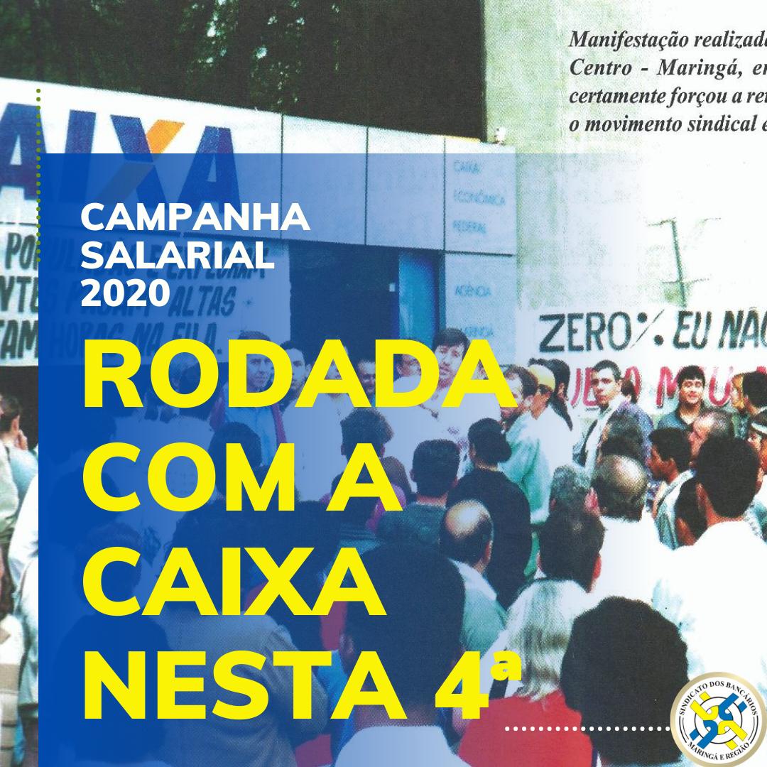Campanha Salarial: Caixa Tem Nova Rodada Nesta Quarta; Saúde Caixa Na Pauta