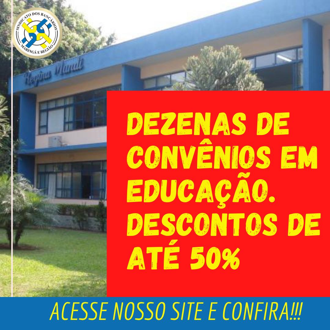 Convênios Em Educação: Dezenas De Opções E Descontos De Até 50%