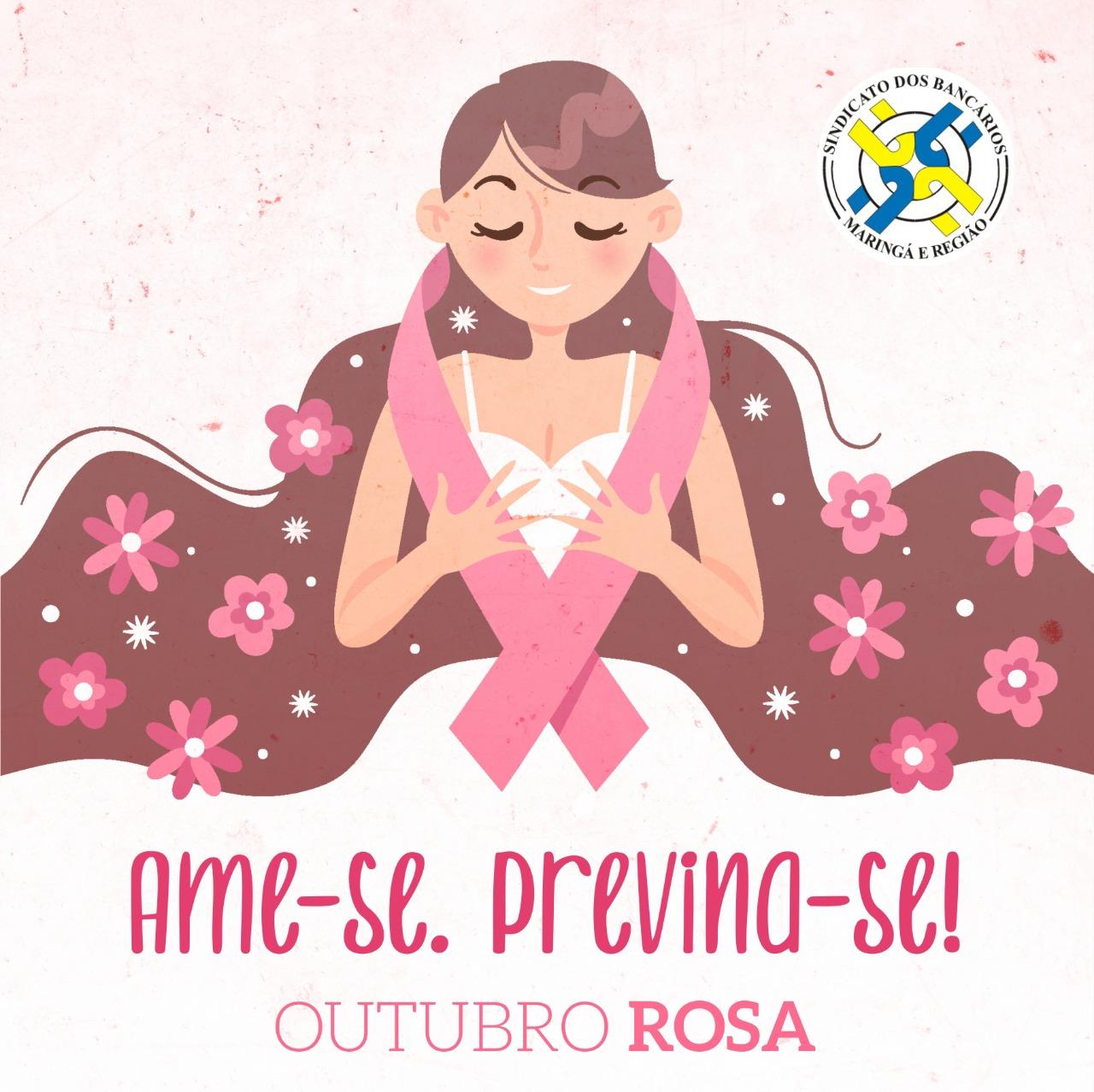 Outubro Rosa: Sindicato Adere A Campanha De Prevenção Ao Câncer De Mama