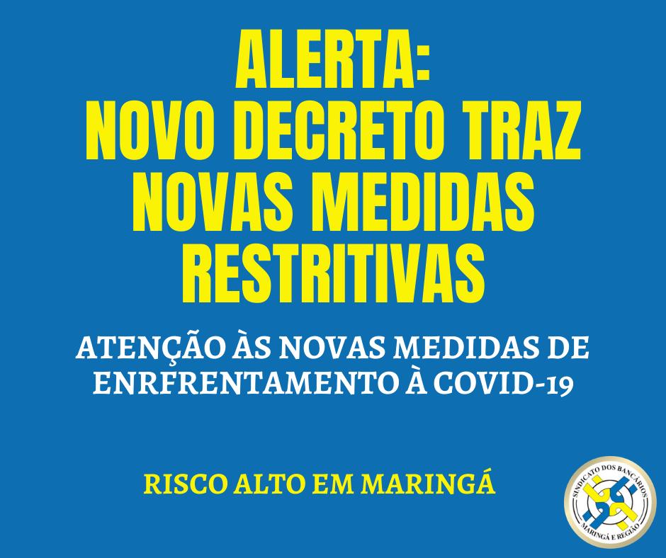 Decreto Municipal Eleva Restrições Por Conta De Aumento De Casos De Covid-19